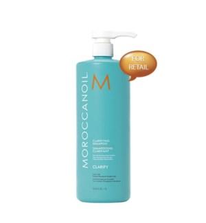 Ltr MOR Clarifyng Shampoo 4RETAIL