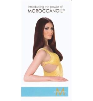 * Moroccan Oil Treatment Brochure