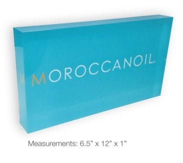 MOR Acrylic Logo Slab
