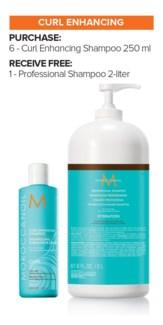 ! MOR 6+2Ltr Curl Enhance Shampoo MJ19