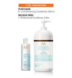! MOR 6+2Ltr Curl Enhance Conditioner MJ19