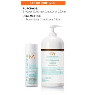 ! 6+2Ltr MOR Color Continue Conditioner MJ19
