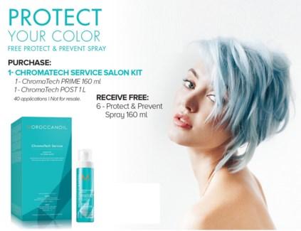 ! MOR CHROMATECH SALON KIT + Prevent Spray MJ19