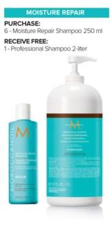 ! Mor 6+2Ltr Moisture Repair Shampoo MJ19