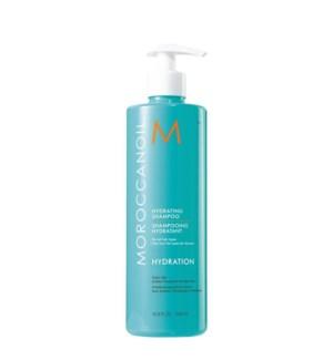 * 500ml MOR Hydrating Shampoo 16.9oz
