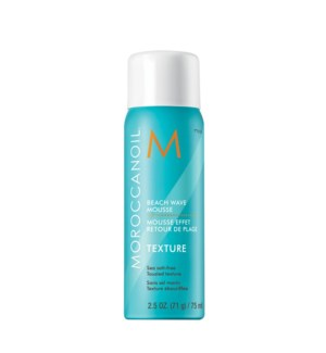 75ml MOR Beach Wave Mousse Texture 2.5oz