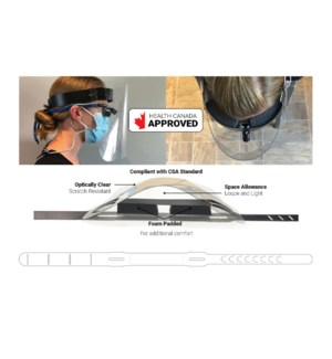 PPE Health Canada Approved Face Shield