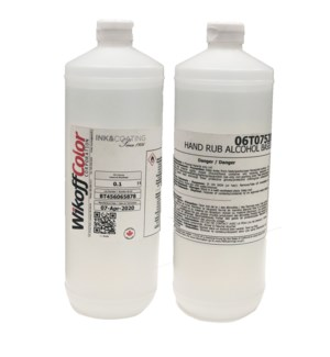 *ETA JULY 30 Litre Hand Rub Alcohol 32oz.