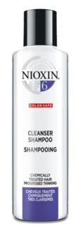 NIOXIN 300ml System 6 Cleanser 300ml