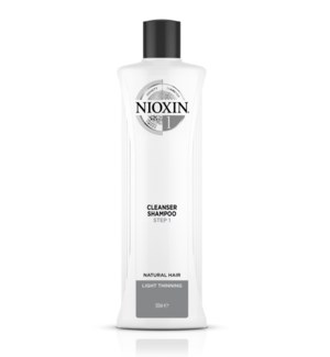 NEW NIOXIN 500ml System 1 Cleanser