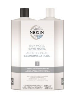 NEW NIOXIN System 1 Litre Duo