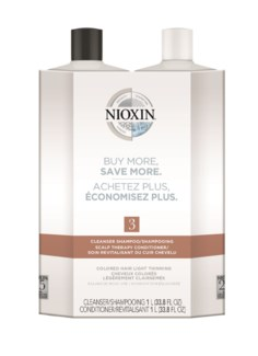 * NEW NIOXIN System 3 Litre Duo