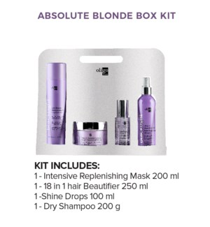 * OLIGO ABSOLUTE BLONDE RETAIL KIT HD2020 BLACKLIGHT