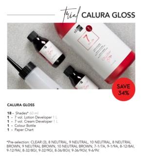 ! OLIGO CALURA GLOSS TRIAL