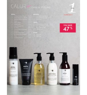! OLIGO CALURA Care & Styling Ensemble #1