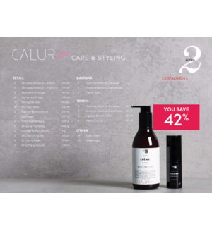 ! OLIGO CALURA Care & Styling Ensemble #2