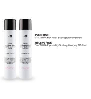 ! 3+3 OLIGO Flex Shaping Spray + Finshing Spray FOCUS