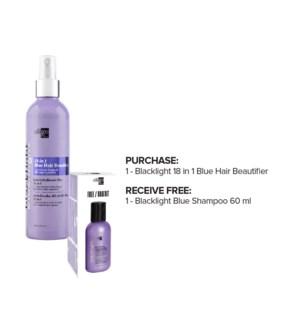 OLIGO 18 in 1 Hair Beautifier + Blue Shampoo 60ml Kit JA2020