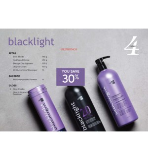 ! OLIGO BLACKLIGHT INTRO # 3 CHOOSE 3 CLAURA GLOSS