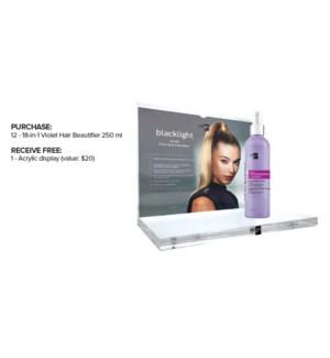 !BUY 12 250ml OLIGO 18 in 1 Violet Hair Beautifier 8.5oz Get Free Display MA2021