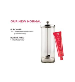 !BUY 24 Calura Colour Get Free Disinfectant Jar MA20201
