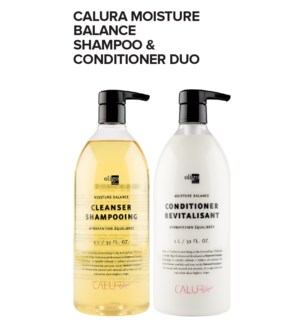 * Calura Moisture Shampoo and Conditioner DUO JA21