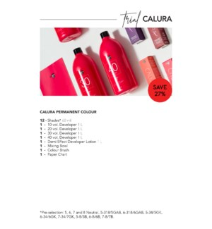 ! OLIGO CALURA TRIAL   - CHOOSE 12 COLOR