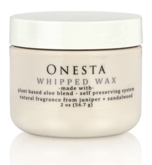 NEW 60ml ONESTA WHIPPED WAX 2oz