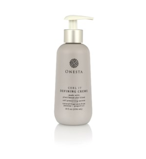 NEW 240ml ONESTA CURL IT DEFINING CREAM