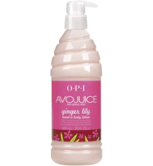 600ml Skin Quencher Ginger Lily Lotion