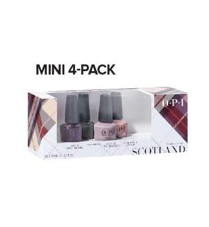 4pc SCOTLAND Lacquer Mini Pack AUG 2019
