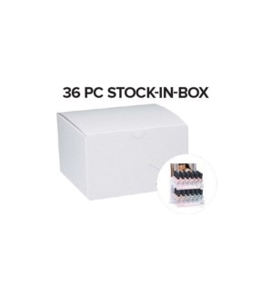 36pc ALWAYS BARE Stock In Box MA19