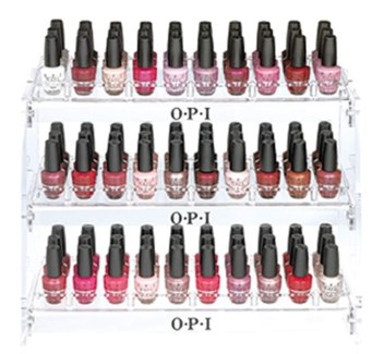 Colors Of Fashion Lacquer Display
