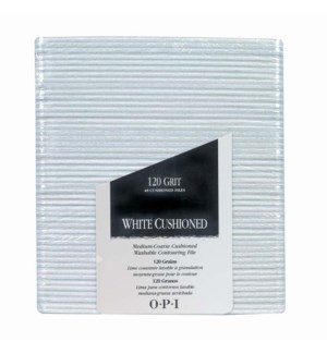 *BF White Cushioned Files Pkg 48 FP