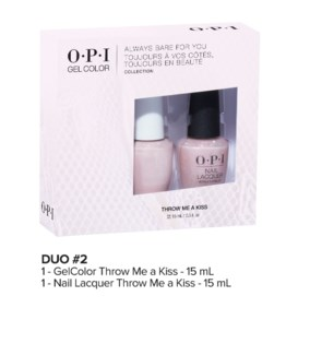 ALWAYS BARE Gelcolor + Lacquer Duo#2 MA19
