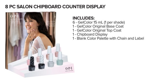 8PC ALWAYS BARE FOR YOU GELCOLOR MA19