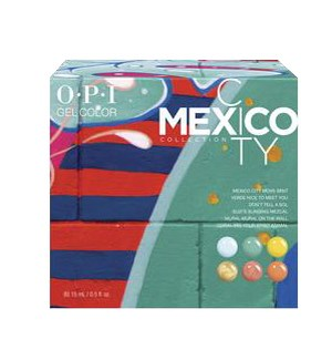 MEXICO Gelcolor Add On Kit #1 FEB 2020