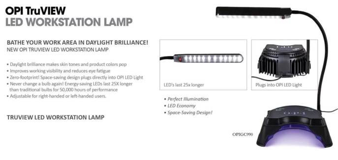 * OPI TruVIEW LED Lamp