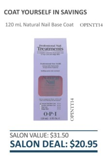 * 4oz Natural Nail Base Coat