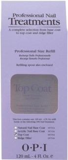 * 4oz OPI Top Coat