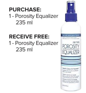 ! 1+1 235ml Porosity Equalizer JA19
