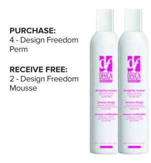 ! 4+2 Design Freedom Mousse JF2020