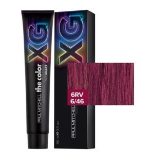 90ml 6RV Paul Mitchell the color XG 3oz