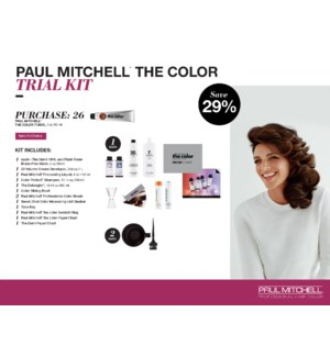 The Color Trial Kit(16COLOR) PREPACK