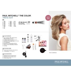 The Color Trial Kit(16COLOR) PREPACK TCTK19