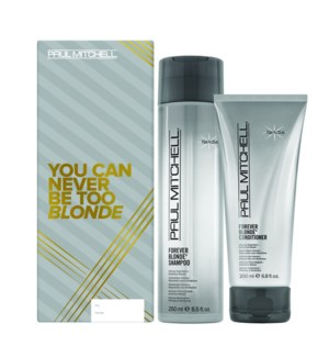You Can Never Be To BLONDE Gift Set HD2020 FOREVER