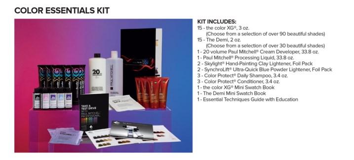 THE COLOR XG & DEMI Essentials Kit JF19