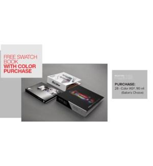 ! XG Swatch Book BUY28COLOR SO2021