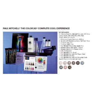! THE COLOR XG Complete Cool Experience Kit BUY12 JA18