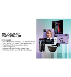 The Color XG Start Small Kit + CHOOSE 3 XG COLOR JF2020